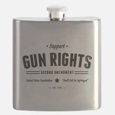 Support Gun Rights Flask