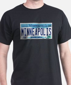 Minneapolis License T-Shirt