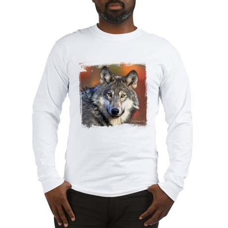 Wolf Photograph Long Sleeve T-Shirt