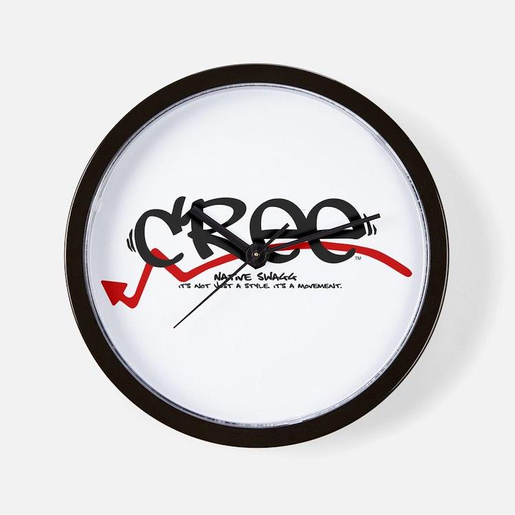 Cree Tag Wall Clock
