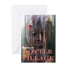 Bottle Village Greeting Card