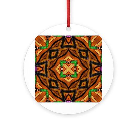 Digital Mandala Ornament (Round)