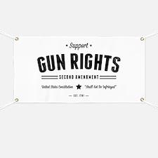 Support Gun Rights Banner