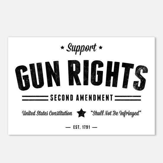 Support Gun Rights Postcards (Package of 8)