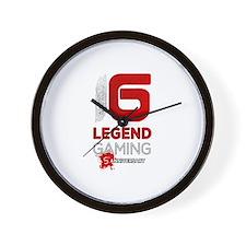 Legend Gaming Wall Clock