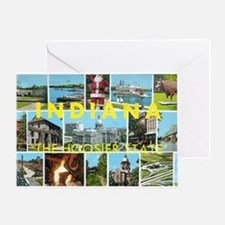 1960's Indiana Scenes Greeting Card