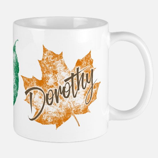 Dorothy Golden Girls Leaf Mugs