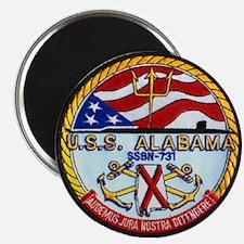 USS ALABAMA Magnet