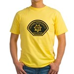 California DMV Investigator Yellow T-Shirt