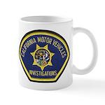 California DMV Investigator Mug