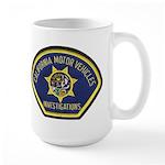 California DMV Investigator Large Mug