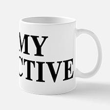 I Love My Detective Mug