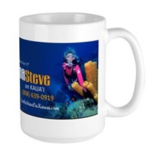 Coffee Mugwith Diver-Turtle