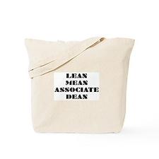 Lean Mean Associate Dean Tote Bag