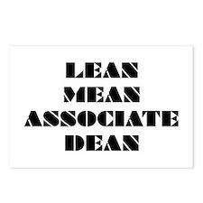 Lean Mean Associate Dean Postcards (Package of 8)