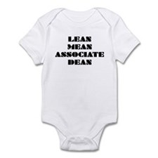 Lean Mean Associate Dean Infant Bodysuit
