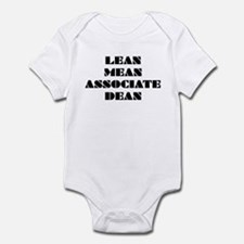 Lean Mean Associate Dean Infant Bodysuit