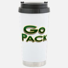 Go Pack! Green Bay Graphic T- Travel Mug