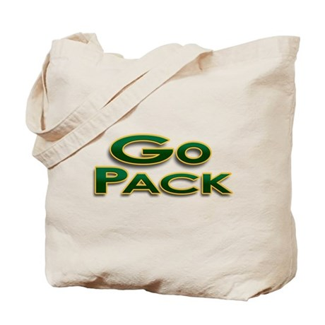 Go Pack! Green Bay Graphic T- Tote Bag