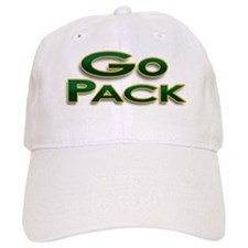 Go Pack! Green Bay Graphic T- Baseball Cap