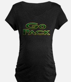 Go Pack! Green Bay Graphic T- T-Shirt