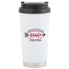 Cross Country Dad Stainless Steel Travel Mug