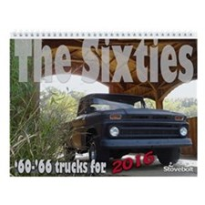 1960 - 1966 Stovebolts 12-Month Wall Calendar