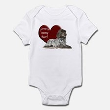 WPG heart Infant Bodysuit