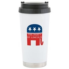 GOP: Party of Lincoln Travel Mug
