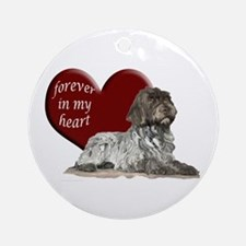 GWP heart Ornament (Round)