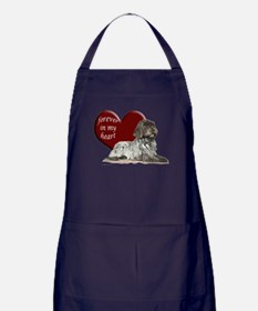 GWP heart Apron (dark)