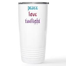 Peace Love Twilight 2 Travel Mug