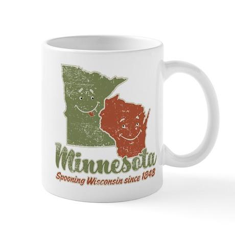 MN: Spooning WI Mug