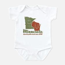MN: Spooning WI Infant Bodysuit