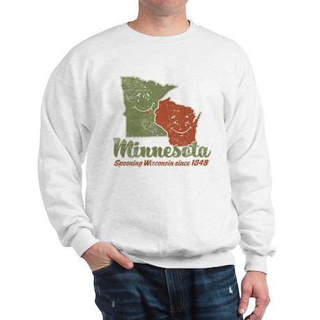 MN: Spooning WI Sweatshirt