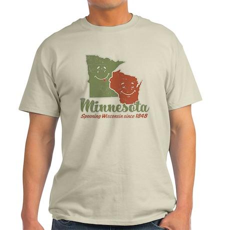 MN: Spooning WI Light T-Shirt