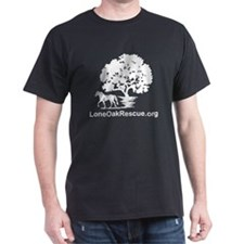 2-loneOak_logo_reverse T-Shirt