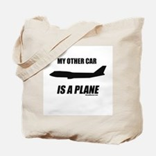 My Other Car Is A Plane Tote Bag