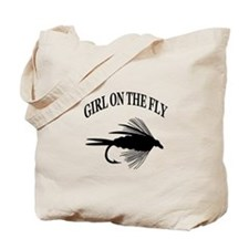 GIRL ON THE FLY Tote Bag