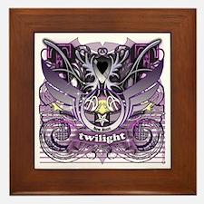 Twilight Royal Media Mix Crest Framed Tile
