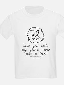Never Seen a Yeti Kids' Shirt T-Shirt
