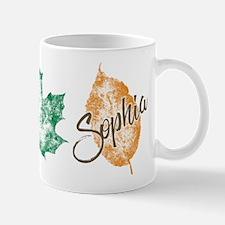 Sophia Golden Girls Leaf Mugs