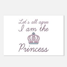 I Am The Princess Postcards (Package of 8)