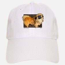 "Pekingese ""Tough Tiger Bailey"" my first dog... Baseball Baseball Cap"