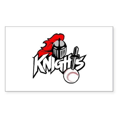 Trujillo Alto Knights Rectangle Sticker
