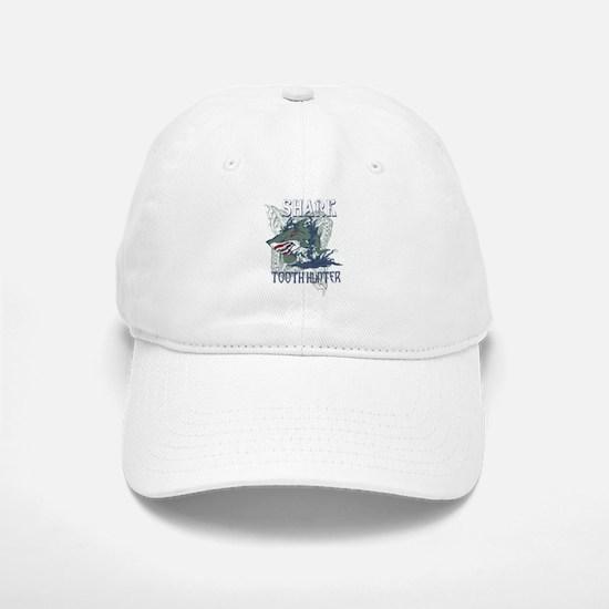 SHARK TOOTH HUNTER Baseball Baseball Cap