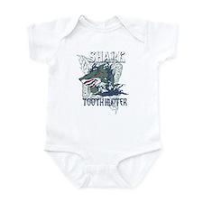 SHARK TOOTH HUNTER Infant Bodysuit