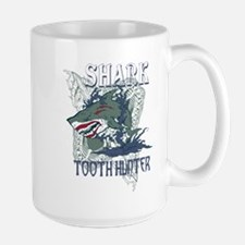 SHARK TOOTH HUNTER Large Mug