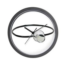 Portable lens Wall Clock