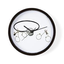 Portable lenses Wall Clock
